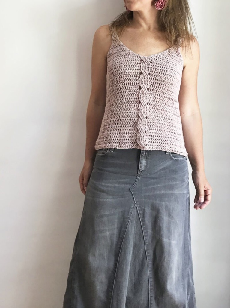 polera tejido crochet