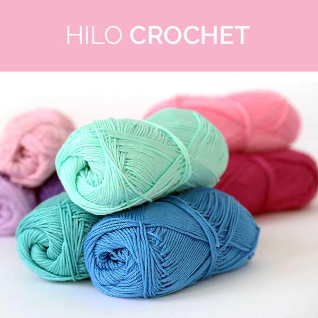 Hilo crochet: Tipos y usos para comenzar a tejer de inmediato