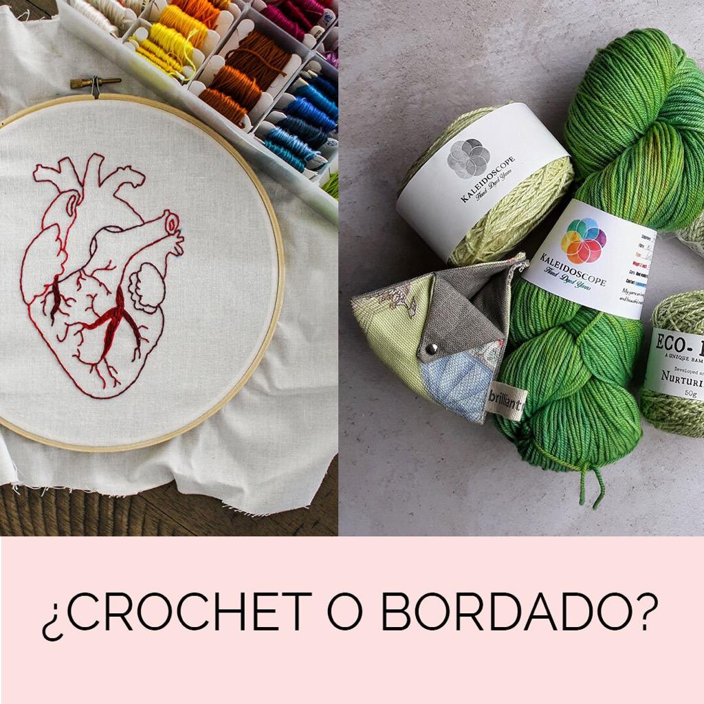 La pandemia y el auge de lo tradicional: ¿Crochet o bordado?